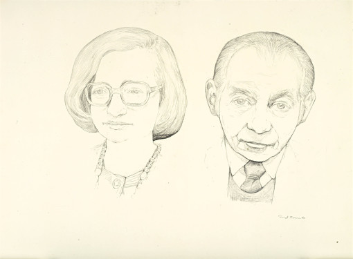 Untitled (portrait of the Vogels)