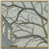 Butternut Branches, Lois Dodd, Painting, Yale University Art Gallery